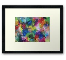 """""""In a Dream"""" original abstract artwork by Laura Tozer Framed Print"""