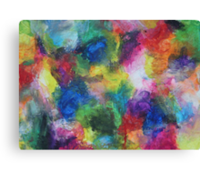 """In a Dream"" original abstract artwork by Laura Tozer Canvas Print"