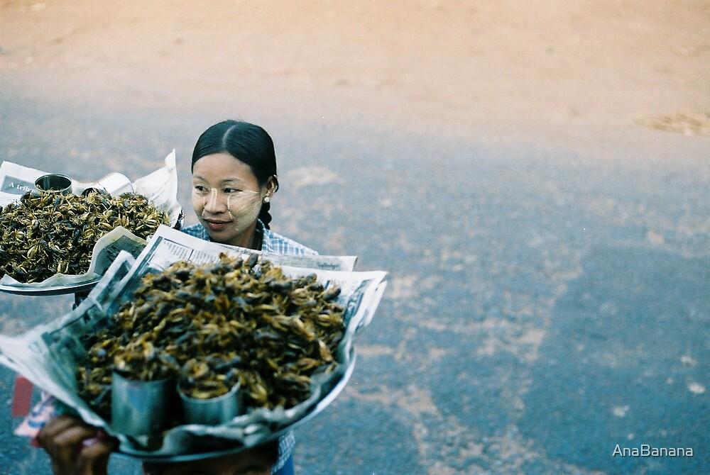 Myanmar lady by AnaBanana