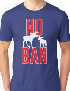 No Moose-Lamb Ban Unisex T-Shirt
