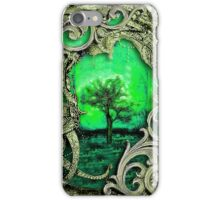 Mythical Gilded Green Enchanted Tree iPhone Case/Skin