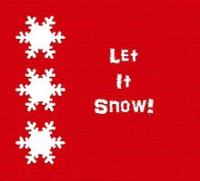 Let it snow!  Festive touches! by sarnia2