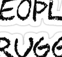 People Struggle With Math Class Sticker