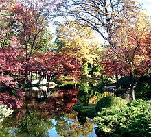 Japanese Tea Gardens by Ellen Woods