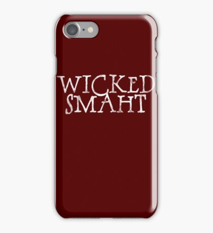 Wicked Smaht iPhone Case/Skin