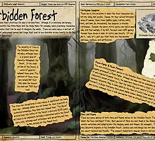 Practical Visitor's Guide to the Labyrinth - The Forbidden Forest by Art-by-Aelia