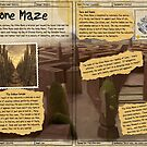 Practical Visitor's Guide to the Labyrinth - The Stone Maze by Art-by-Aelia