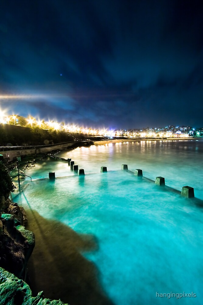 Coogee Mist Blue by hangingpixels