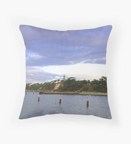 Shorncliffe - Queensland, Australia Throw Pillow