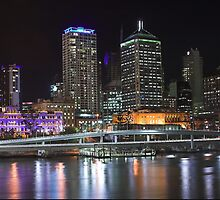 Brisbane City, Queensland, Australia by Brendan Rouse