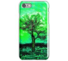Mythical, Green Enchanted Tree iPhone Case/Skin