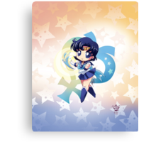 Chibi Super Sailor Mercury Canvas Print