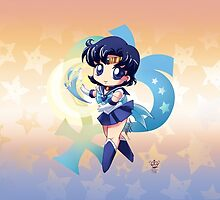 Chibi Super Sailor Mercury by MakoFufu