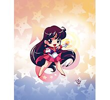 Chibi Super Sailor Mars Photographic Print