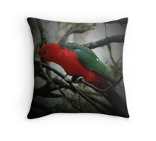 KING PARROT I Throw Pillow