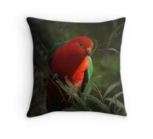 KING PARROT II Throw Pillow