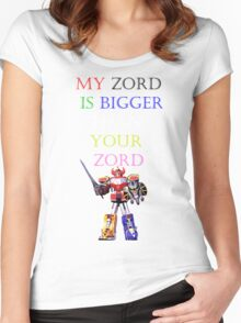 My Zord is Bigger Women's Fitted Scoop T-Shirt