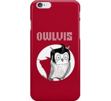 Owlvis  iPhone Case/Skin