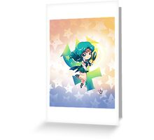 Chibi Super Sailor Neptune Greeting Card