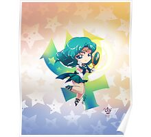 Chibi Super Sailor Neptune Poster
