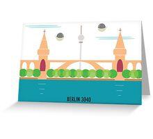 Berlin 3040 Greeting Card