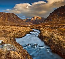 Poison Glen Evening by Derek Smyth