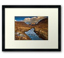 Poison Glen Evening Framed Print