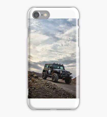 Jeep Wrangler in UAE iPhone Case/Skin