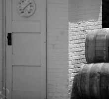Wine Barrels by Jennifer  Causley