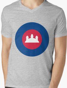 RCAF ROUNDEL Mens V-Neck T-Shirt