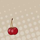 Cherries Print by red addiction