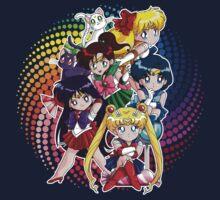 Sailor moon - Chibi Candy Edit. (Black) Kids Tee