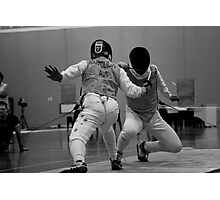 Australian National Fencing Tournament 2007, Perth WA  Photographic Print
