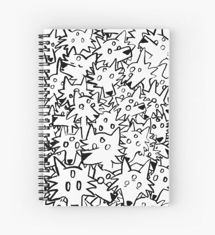 three eyed wolfpack Spiral Notebook