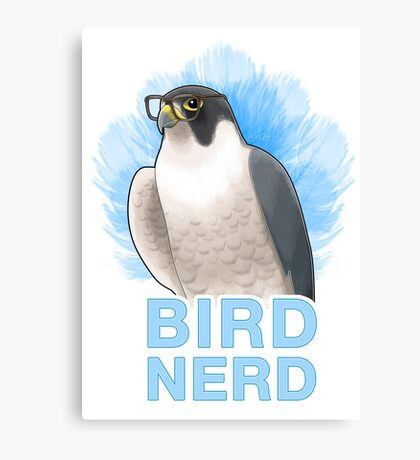 Bird Nerd Canvas Print