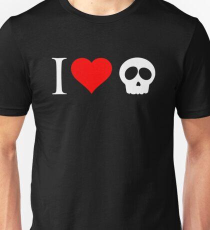 I Heart Skulls Unisex T-Shirt