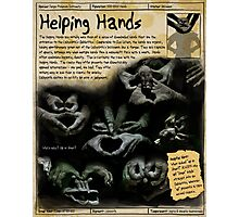 Practical Visitor's Guide to the Labyrinth - Helping Hands Photographic Print