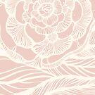 Pale dogwood rose pattern by kanvisstyle