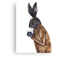 MOBILE HARE Canvas Print