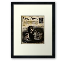 Practical Visitor's Guide to the Labyrinth - Phony Warnings 1 Framed Print