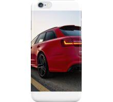 Audi RS6 Avant in Sharjah, UAE iPhone Case/Skin