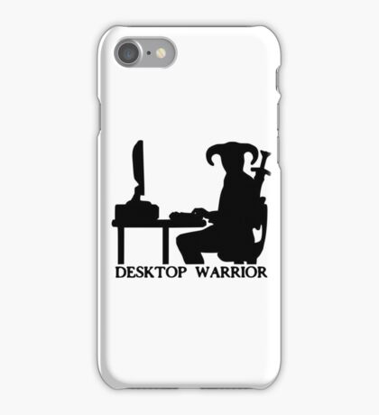 Desktop Warrior iPhone Case/Skin