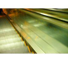 escalator madness Photographic Print