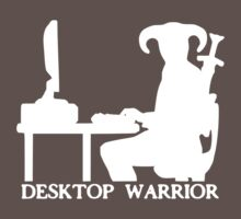 Desktop Warrior by antiquitas
