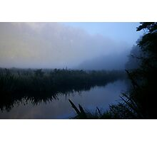 Mirror lakes Photographic Print