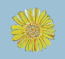 Bright and big yellow flower Kids Tee
