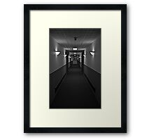 The Quiet Zone Framed Print