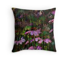Rudbeckias Throw Pillow