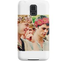 Newt and Thomas with Flowercrowns Samsung Galaxy Case/Skin