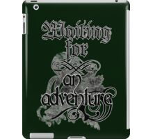 Waiting for an adventure iPad Case/Skin